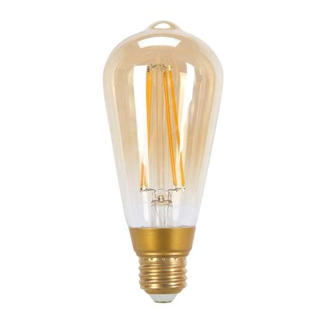 Edison Led Light Bulb Globe Electric 60w Equivalent Soft White 2200k Vintage Edison Dimmable Led Light Bulb 73193