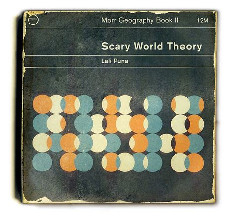 book layout theory lali puna scary world theory books graphics and ui design