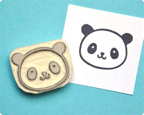 panda rubber st 1000 ideas about handmade sts on st