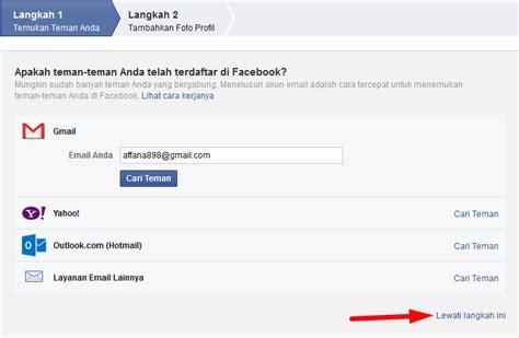 membuat facebook baru sekarang cara membuat mendaftar akun facebook baru