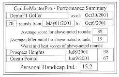 golf handicap software caddiemasterpro