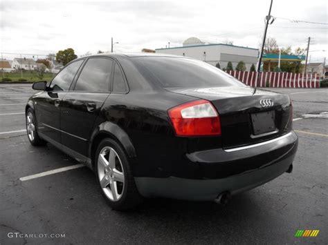 Audi A 4 2003 by Audi A4 2003 Interior Black