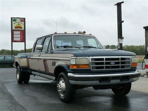 buy car manuals 1997 ford f350 auto manual find used 95 ford f 350 dually diesel centurion package 5spd manual no reserve in frankford
