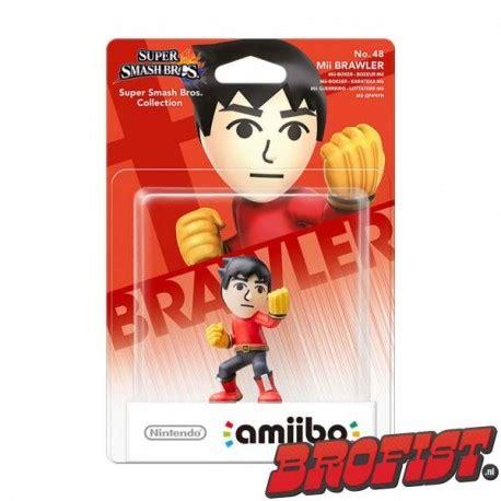 Amiibo Mii Brawler amiibo smash series mii brawler brofist