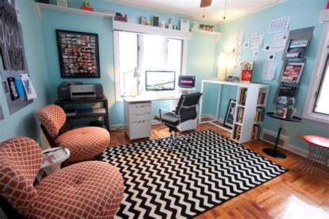graphic designer s home office eclectic home office