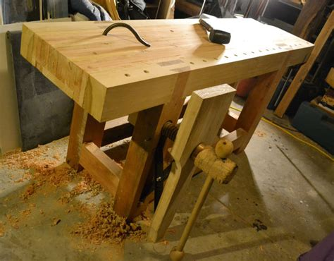 roubo work bench roubo style workbench 11 steps with pictures