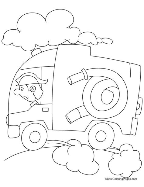 Fire Hydrant Coloring Page Az Coloring Pages Hydrant Coloring Page