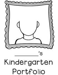 Self Portrait Templates Primary Grades Pinterest Kindergarten Art School And Art Children S Portfolio Template Free