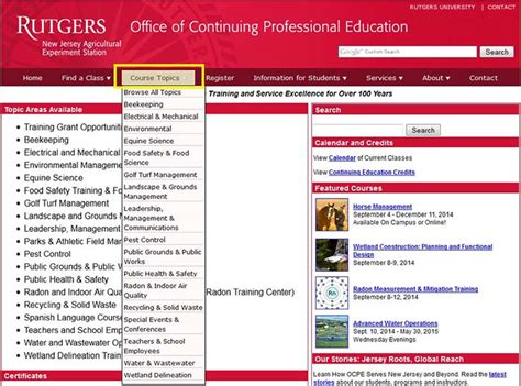 Rutgers Mba Who To Contact For Class Registration by How To Register Rutgers Njaes Office Of