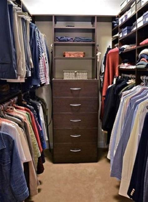 small walk in closet designs small walk in closet design with brown color ideas home