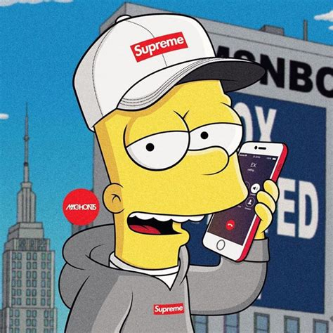 simpson s pinterest wallpaper and supreme
