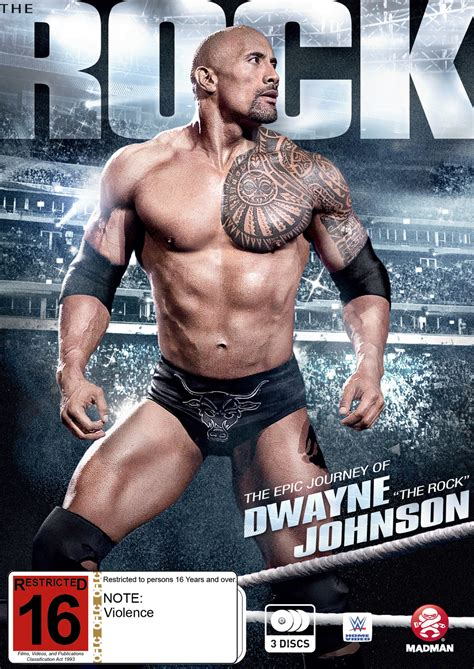 dwayne the rock johnson epic journey wwe the rock the epic journey of dwayne johnson dvd