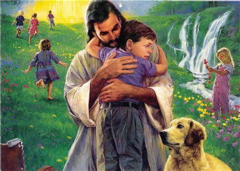Children Are From Heaven pictures of jesus with children