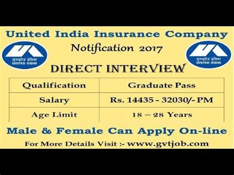 united india insurance uiic starts united india insurance company uiic recruitment 2017