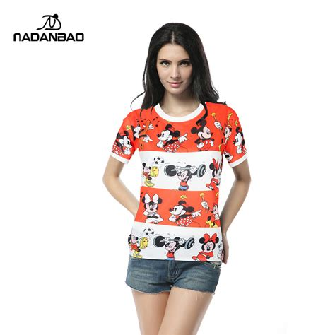Tshirt Mickey From Ordinal Apparel new fashion mickey print 3d tshirt popular summer mouse clothes unisex top tees