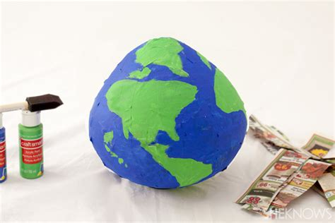 How To Make Paper Globe - geography crafts for