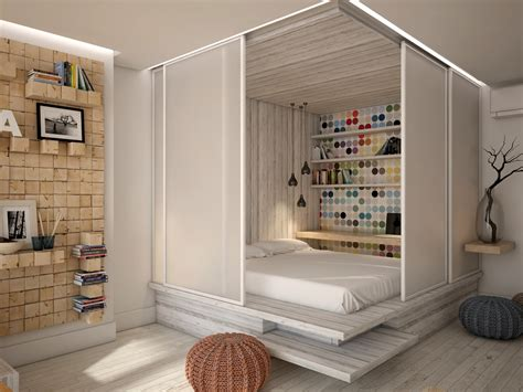 Studio Apartment Bed Ideas 3 Open Studio Apartment Designs