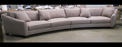 rounded couches curved sectional sofa set rich comfortable upholstered