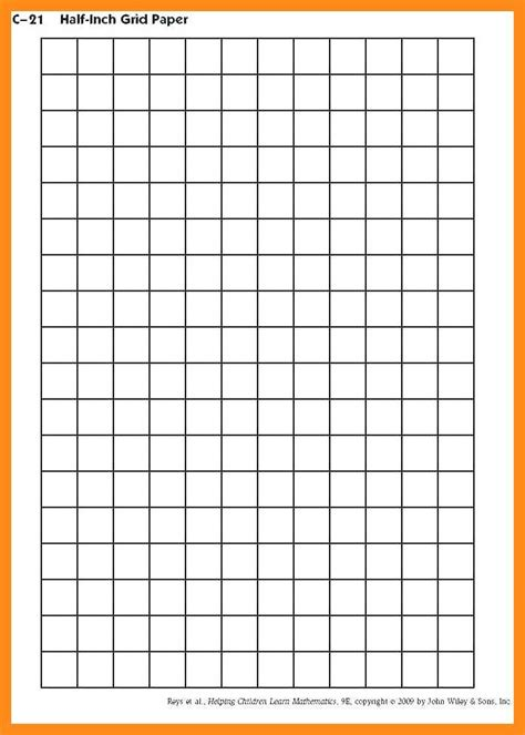 one inch graph paper template 10 11 grid paper template for excel lascazuelasphilly