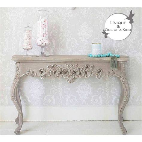 shabby chic console table white 78 best ideas about shabby chic console table on