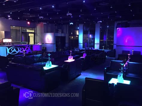 hookah lounge couches led furniture great for hookah lounges