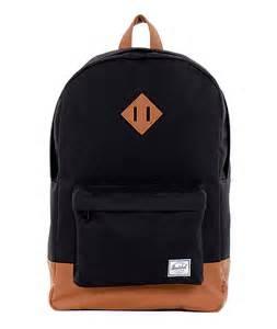 black packs herschel supply heritage black 21l backpack at