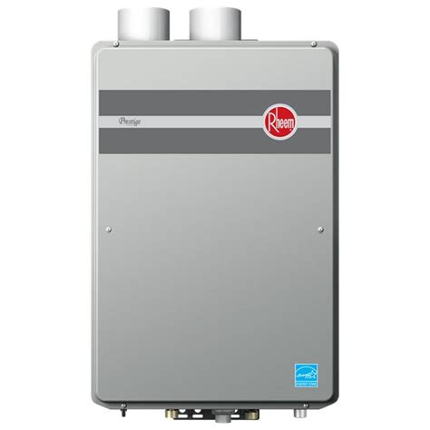 Tankless Water Heater Rheem Tankless Gas Indoor Direct Vent 199 900 Btu Water Heater