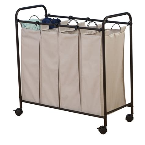 Quad Laundry Sorter Laundry Separator