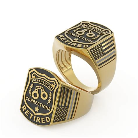 Can You Be A Correctional Officer With A Criminal Record Corrections Officer Ring Limited Edition Shineon