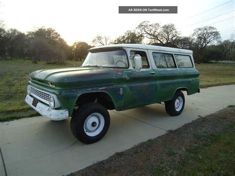 1963 factory 4x4 chevy suburban carryall c10