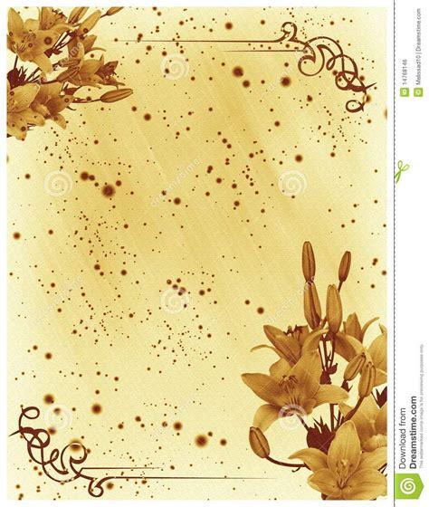 blank wedding invitation cards wedding invitation card stock illustration image of