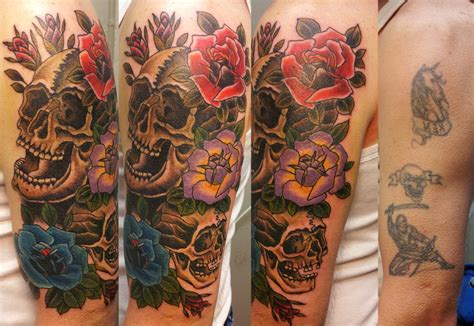 design my cover up tattoo latin skull cover up tattoo design best tattoo ideas gallery