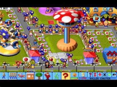 theme park pc theme park gameplay pc with on ride vids youtube