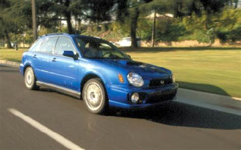 how it works cars 2002 subaru impreza lane departure warning 2002 subaru impreza wrx sport wagon price review road test motor trend