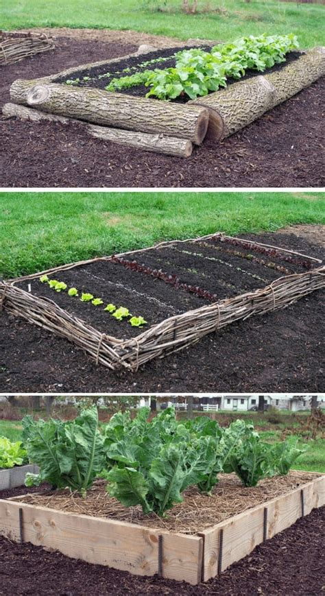 raised garden bed ideas plans  family food garden