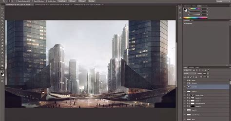tutorial after effects matte painting matte painting tutorial for architectural visualisation