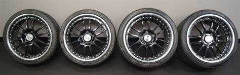 oz racing superleggera iii staggered wheels tires black