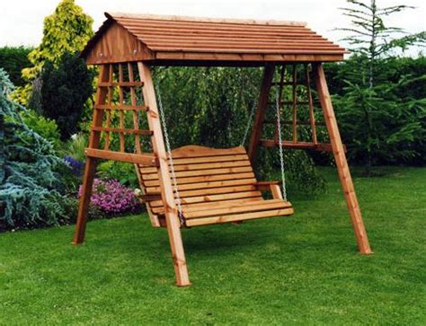 swings in garden swings and hammocks for your home outdoor decoration