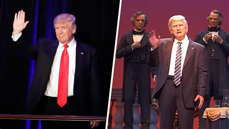 donald trump hall of presidents disney s animatronic donald trump is the robot president