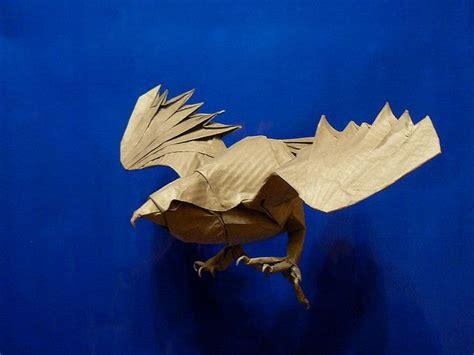 Origami Hawk - seth friedman origami cooper s hawk outrageous origami