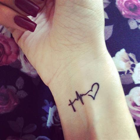 small tattoo on wrist faith hope love tattoos pinterest