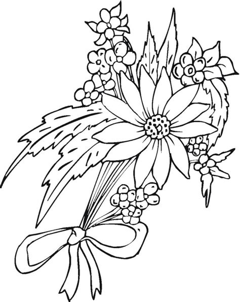 coloring pages of pretty flowers pretty flower coloring pages az coloring pages