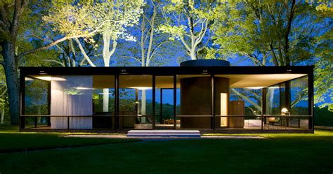 modern glass house inside the homes that 11 great architects designed for