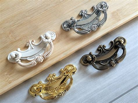 2 5 drawer pulls dressers 2 5 quot shabby chic drop bail dresser pull drawer pulls