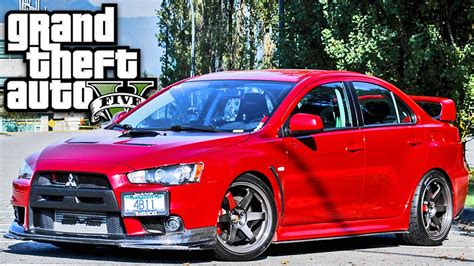 imagenes de retro lancer gta v carro lancer evolution gta 5 carros youtube
