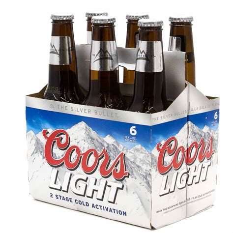 Coors Light Prices by Coors Light 12oz Bottle 6 Pack Wine And
