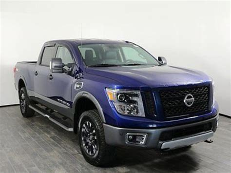 nissan trucks blue 2016 nissan titan for sale 1 958 used cars from 35 991