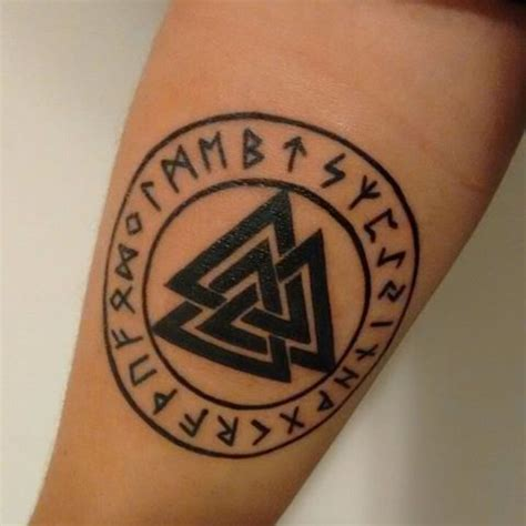 valknut tattoo designs viking designs ideas and meanings me now