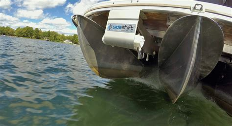 boat thrusters sideshift pt230 pontoon thruster sideshift
