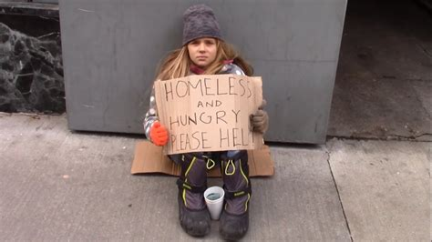 Cute Child by Would You Help A Homeless Child Youtube